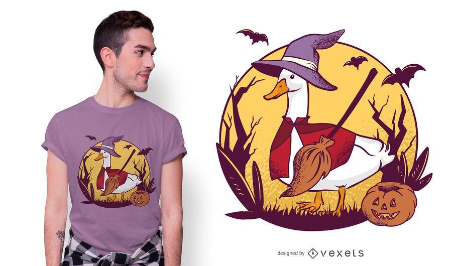 Halloween Gans T-Shirt Design
