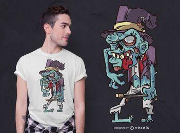 Magier Zombie T-Shirt Design