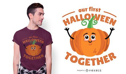 Halloween together t-shirt design