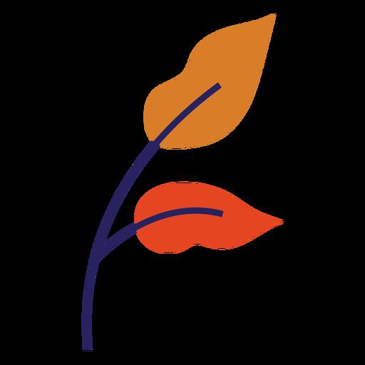 Hojas de oto?o hojas planas