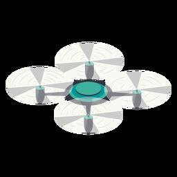Drone circular ilustración abejón