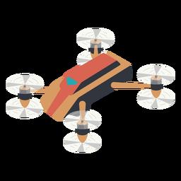 Drone compacto ilustración drone
