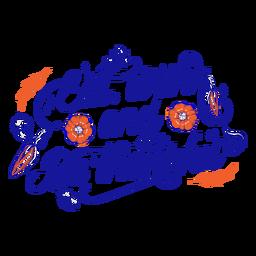 Comer, beber y ser agradecido con letras de acción de gracias.
