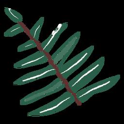 Blätter Zweig Hand gezeichnet Blätter Hand gezeichnete Zweig Pflanze