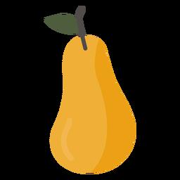 Pêra fruta plana pêra fruta plana