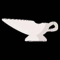 Serving saucer flat saucer