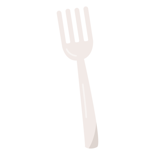 Silver fork flat fork