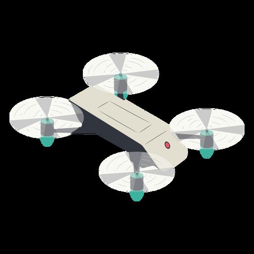 Pequeño avión no tripulado ilustración drone