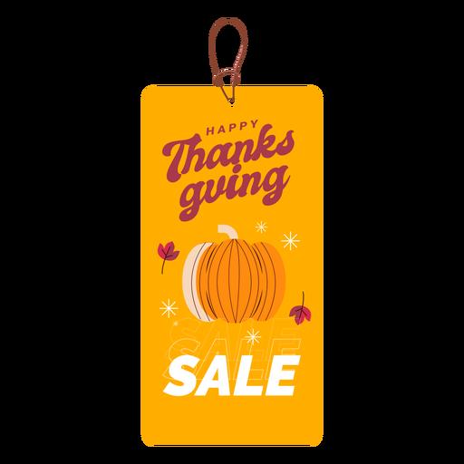 Thanksgiving sale tag thanksgiving