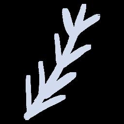 Galho de árvore galho plano