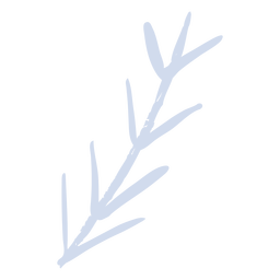 Ramita de árbol ramita plana