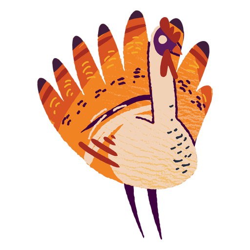 Turkey animal textured turkey Transparent PNG