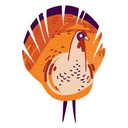 Turkey farm animal textured turkey