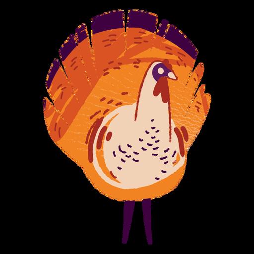 Turkey farm animal textured turkey Transparent PNG