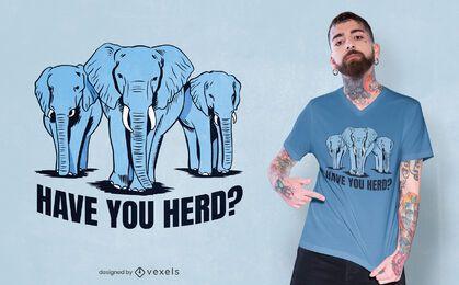 ¿Tienes diseño de camiseta de manada?