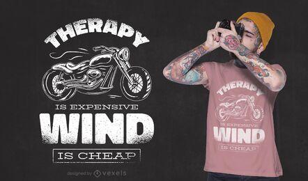 El viento es un diseño de camiseta barato.
