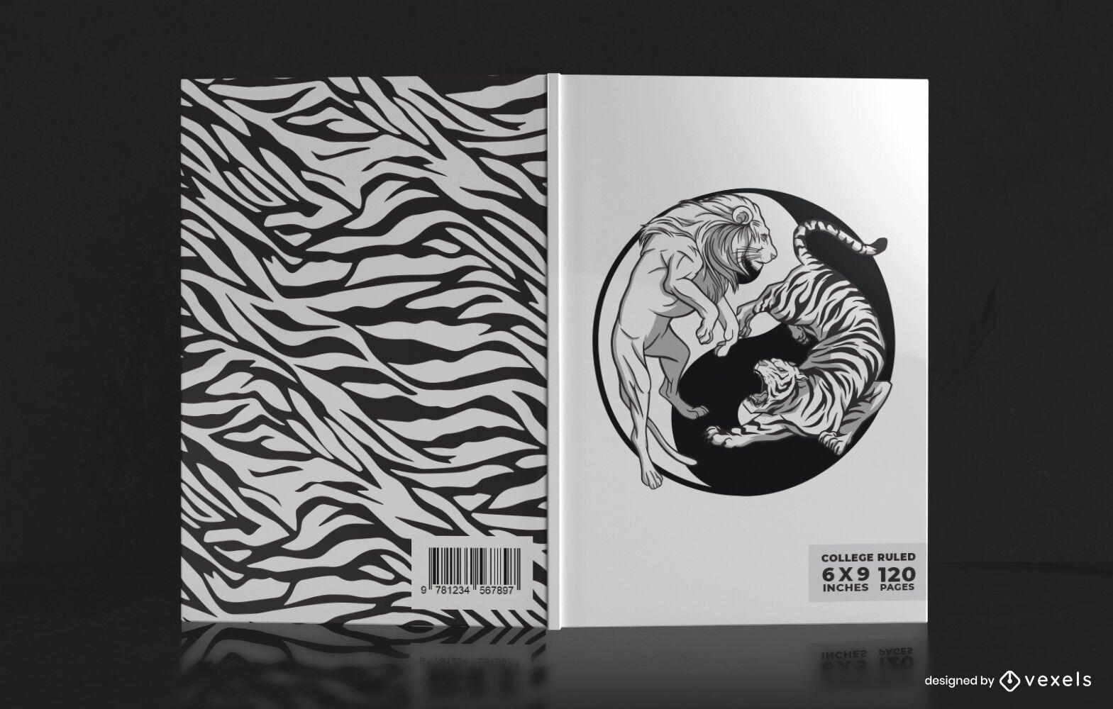 Yin yang book cover design