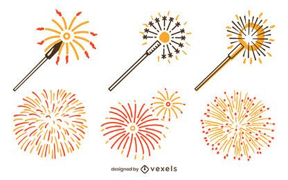 Fireworks set design