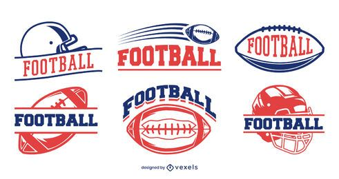 Football badge set design