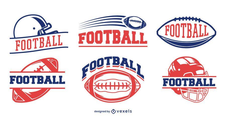 Football badge set design