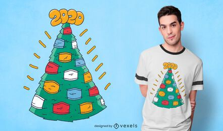 Christmasks t-shirt design