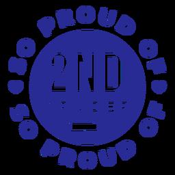 2. Klasse stolz auf Design