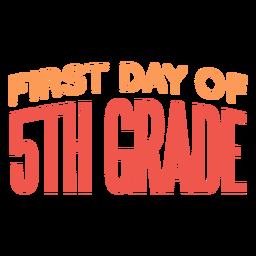Citação do primeiro dia da 5ª série