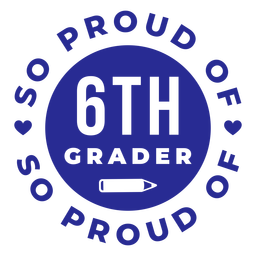 6th grade proud of design