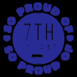 7th grade proud of design