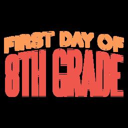 Citação do primeiro dia da 8ª série