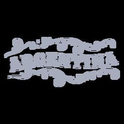 Argentina country badge ornament design