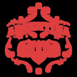 Argentina ornament badge