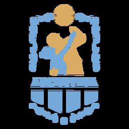 Pareja de baile tradicional de Argentina