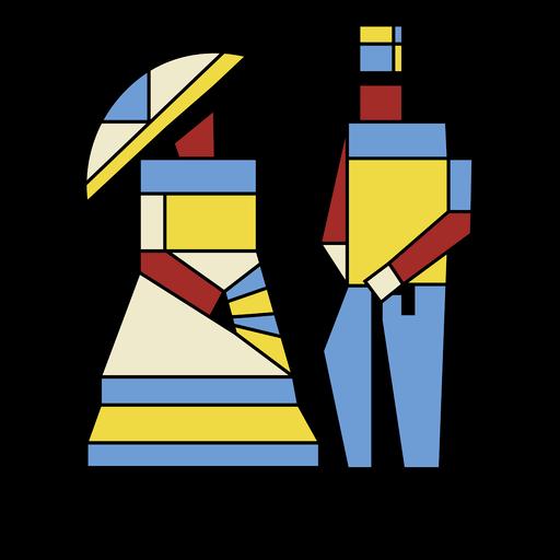 Arte pareja tradicional uruguay