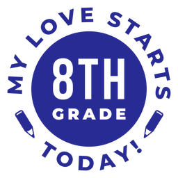 Letras de regreso a la escuela de octavo grado