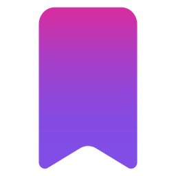 Bookmark icon flat