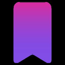 Icono de marcador plano