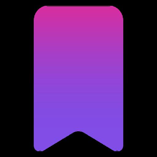 Icono de marcador plano Transparent PNG
