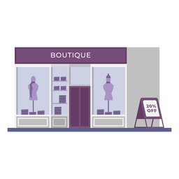 Boutique building store flat