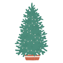 Christmas tree illustration christmas tree