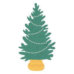 Christmas tree illustration design christmas tree