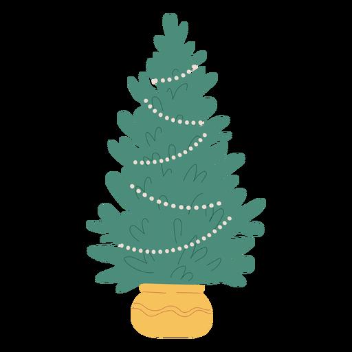 Diseño de ilustración de árbol de navidad árbol de navidad