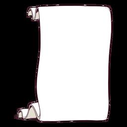 Ilustración de papiro clásico