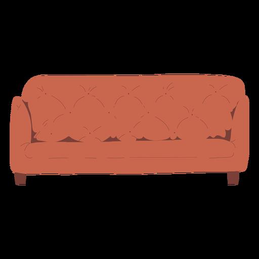 Desenho de ilustração de sofá