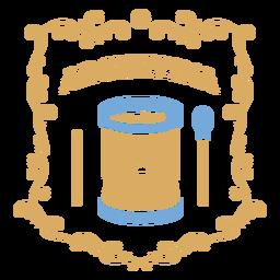 Tambor de música tradicional argentina
