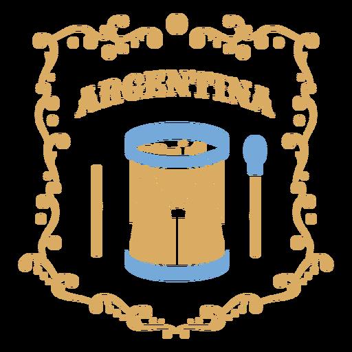 Drum traditional argentina music