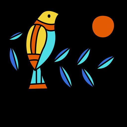 El salvador bird illustration design