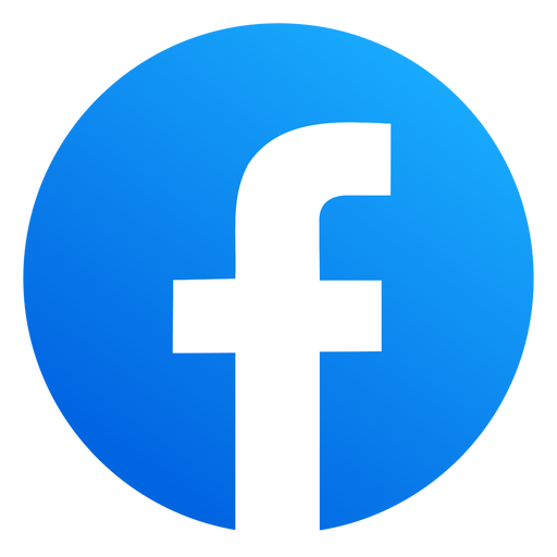 Ícone do Facebook nas redes sociais