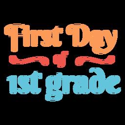 Citação do primeiro ano do primeiro ano