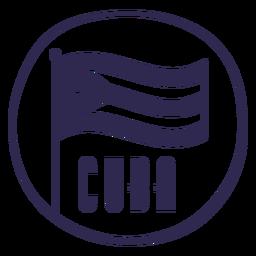 Bandeira nacionalismo design cuba